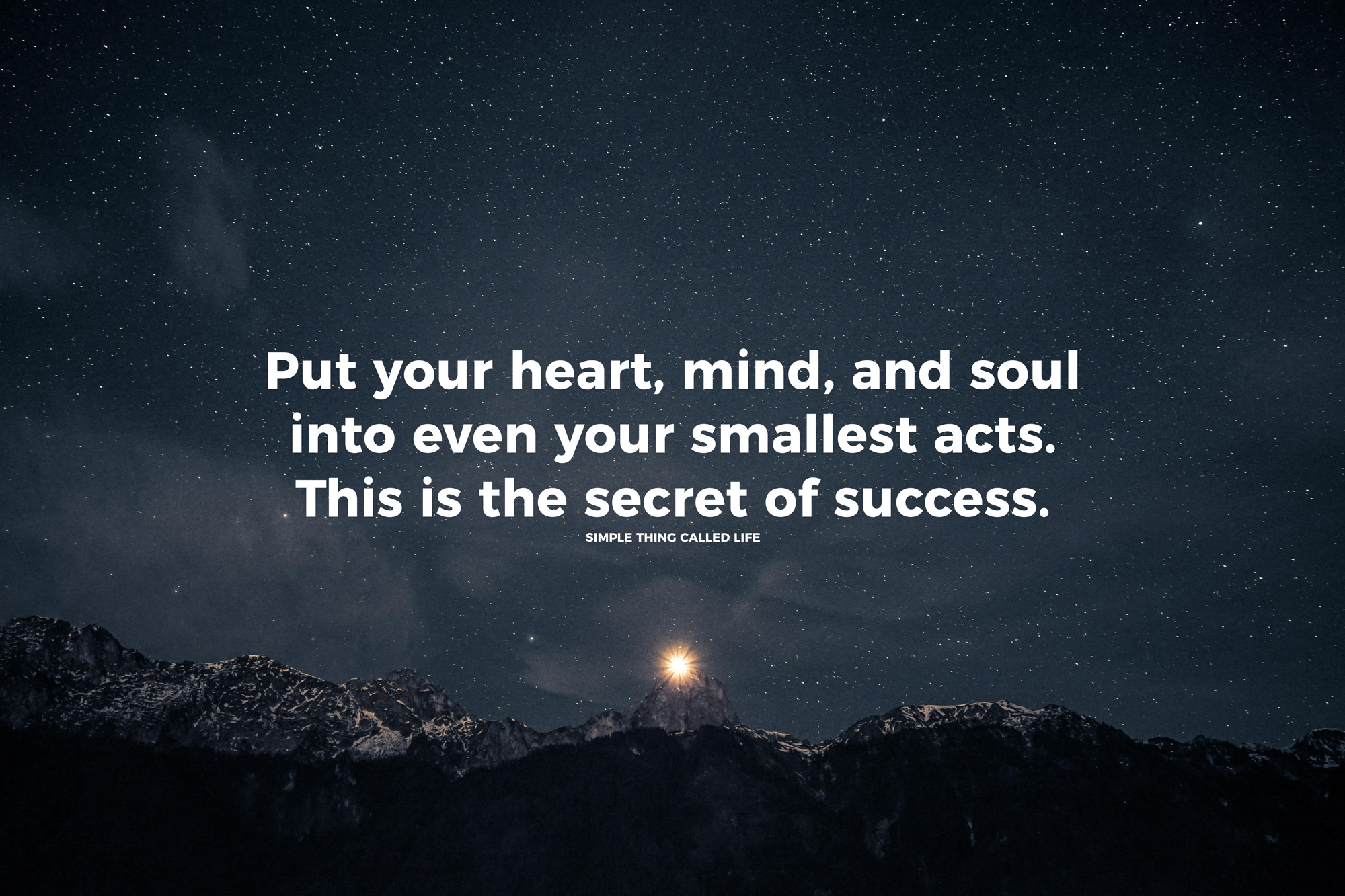 Secret To Success Life Daily Quotes Sayings Pictures
