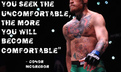 Seek The Uncomfortable Conor Mcgregor Daily Quotes Sayings Pictures