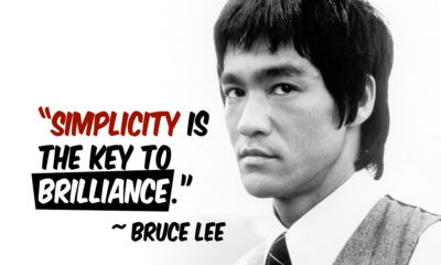 Simplicity Is The Key Bruce Lee Daily Quotes Sayings Pictures