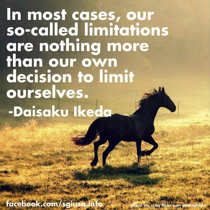 So Called Limitations