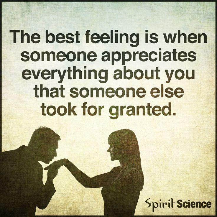 Someone Appreciates You