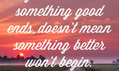 Something Good Ends