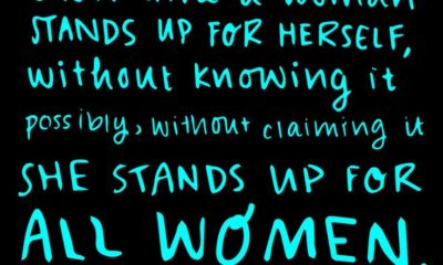 Stands Up For Women