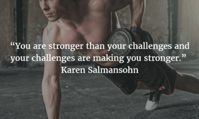 Stronger Than Your Challenges Karen Salmansohn Daily Quotes Sayings Pictures