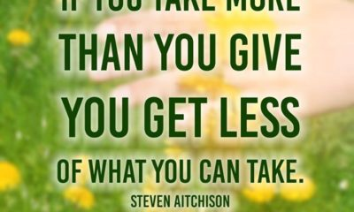 Take More Than You Give
