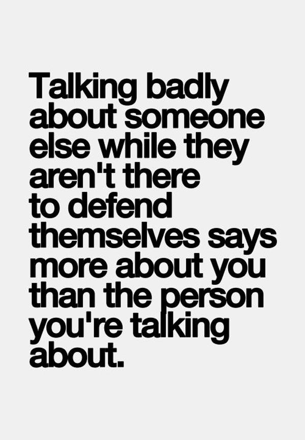 Talking Badly