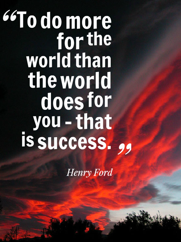 That Is Success