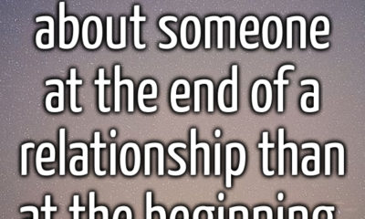 The End Of A Relationship