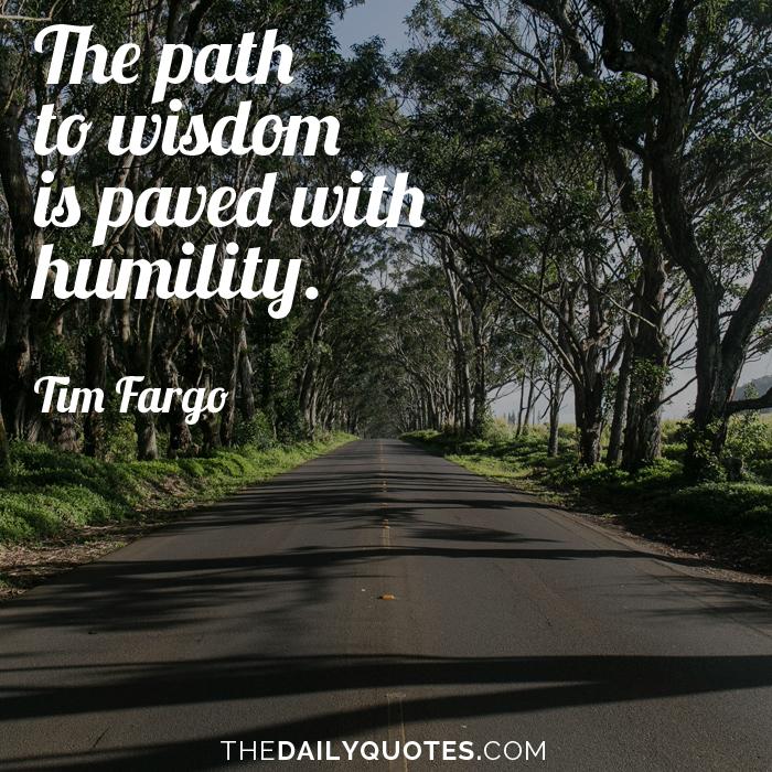 The Path To Wisdom