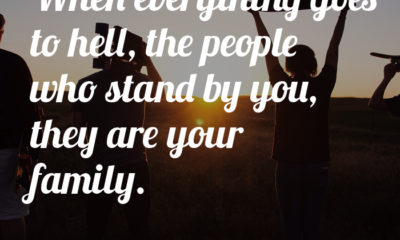The People Who Stand By You