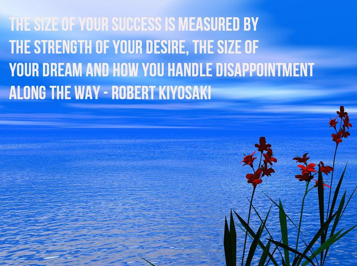 The Size Of Your Success