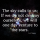 The Sky Calls To Us Carl Sagan Daily Quotes Saying Pictures
