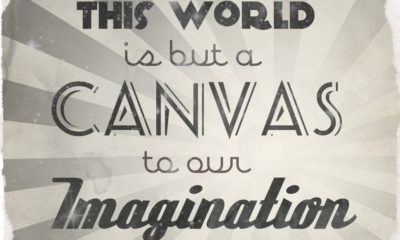 The World Is A Canvas Henry David Thoreau Daily Quotes Sayings Pictures