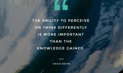 Think Differently David Bohm Daily Quotes Sayings Pictures
