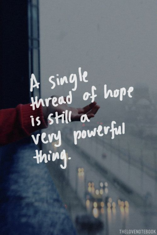 Thread Of Hope