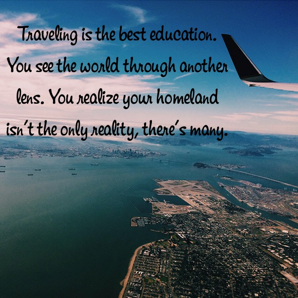 Traveling Is The Best Education
