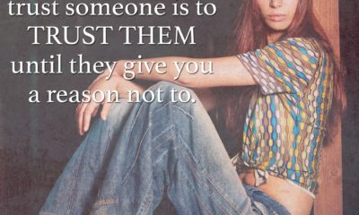 Trust Them Until They Give You A Reason Steven Aitchison Daily Quotes Sayings Pictures