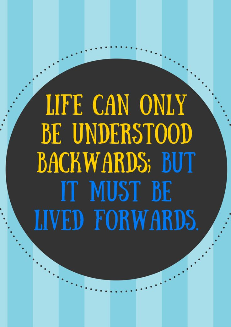 Understood Backwards