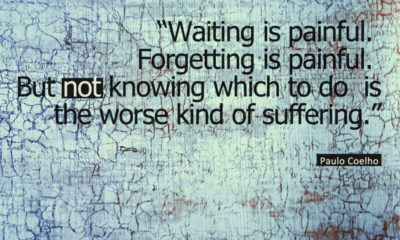 Waiting Is Painful