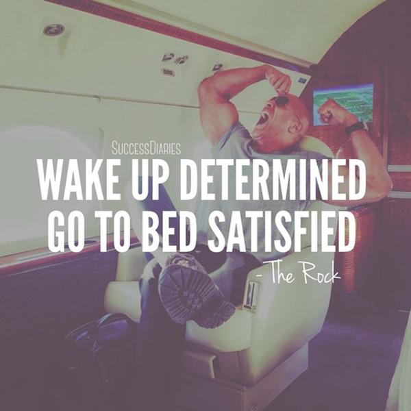 Wake Up Determined