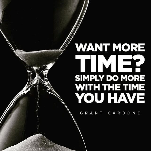 Want More Time