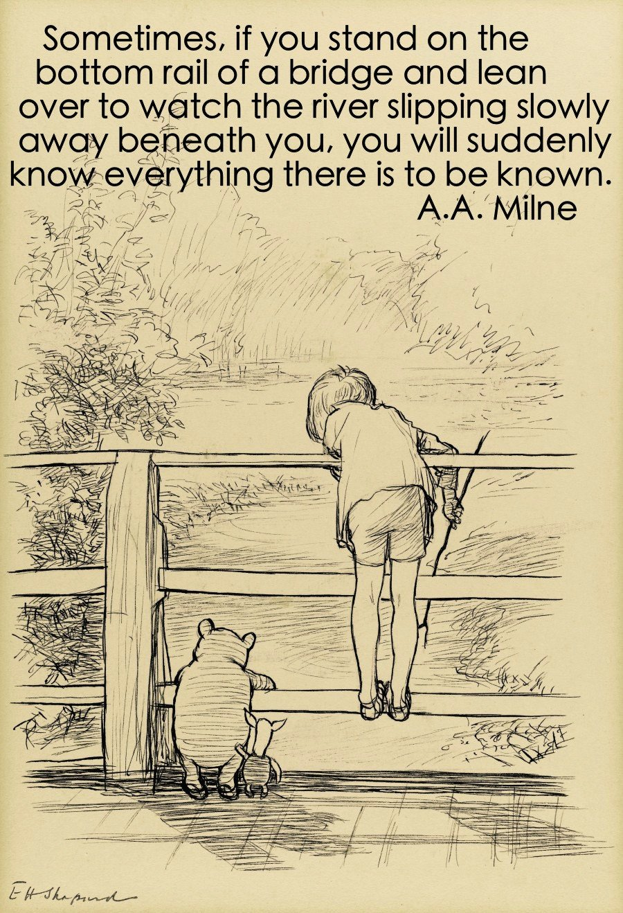 Watch The River A A Milne Daily Quotes Sayings Pictures