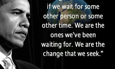 We Are The Change We Seek Barack Obama Daily Quotes Sayings Pictures