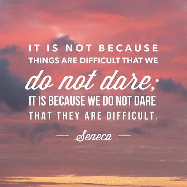We Do Not Dare