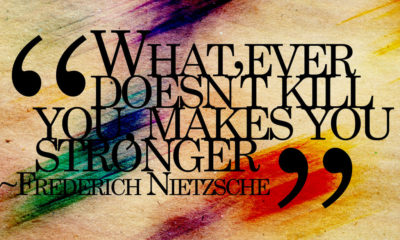What Doesnt Kill You Stronger Frederich Nietzsche Daily Quotes Sayings Pictures
