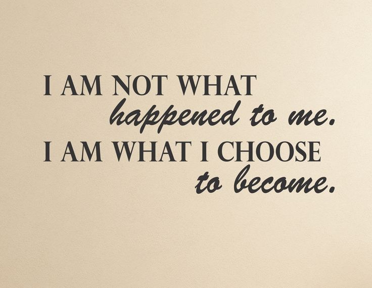 What I Choose To Become