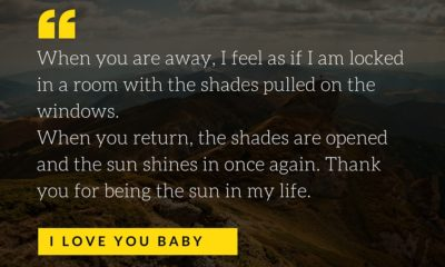 When You Are Away I Love You Daily Quotes Sayings Pictures