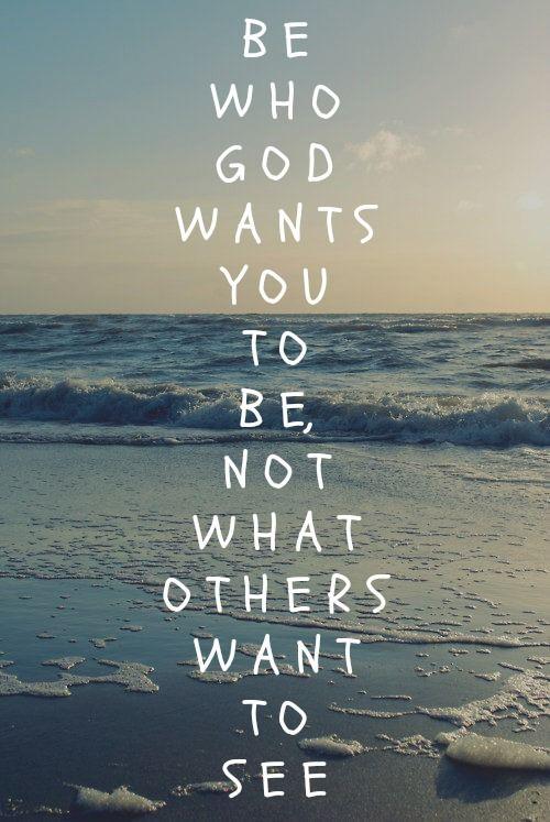 Who God Wants