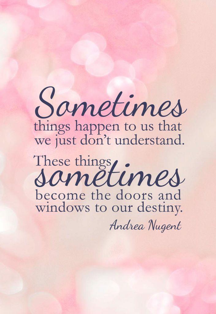 Windows To Our Destiny
