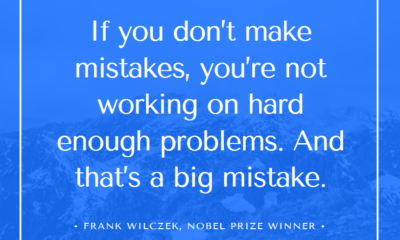 Working On Problems Frank Wilczek Daily Quotes Sayings Pictures