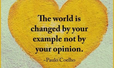 World Changed By Example Paulo Coelho Daily Quotes Sayings Pictures