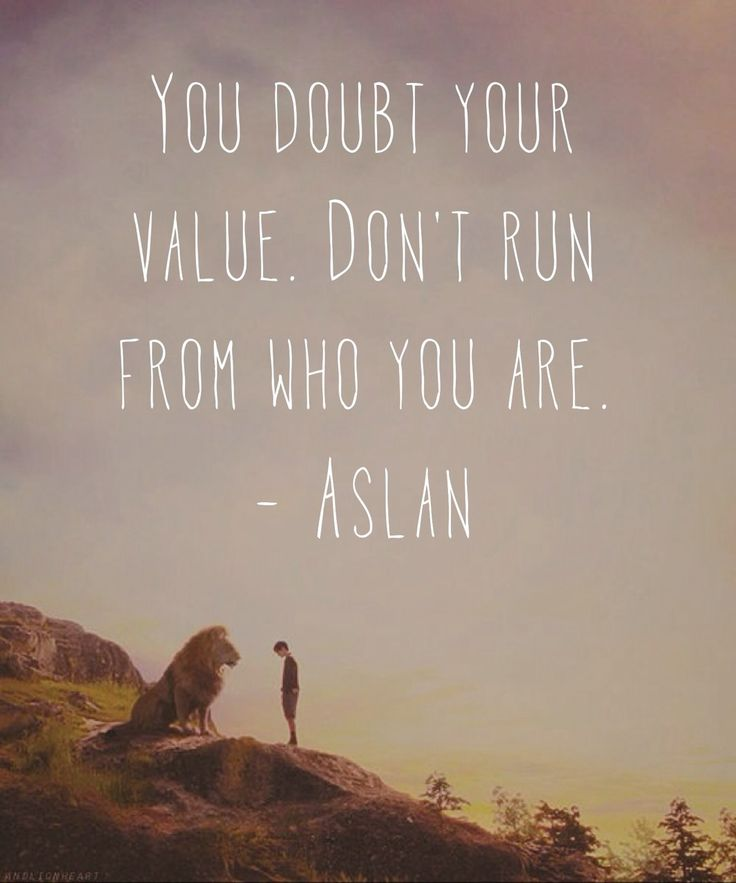 You Doubt Your Value