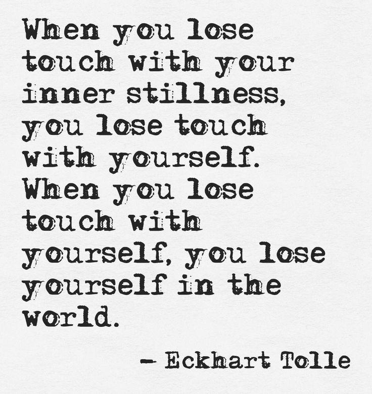 Your Inner Stillness