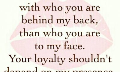 Your Loyalty