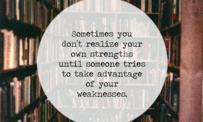 Your Own Strengths
