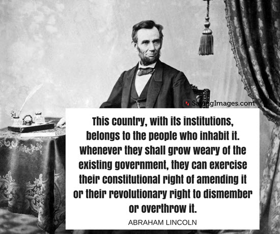 president abraham lincoln quote