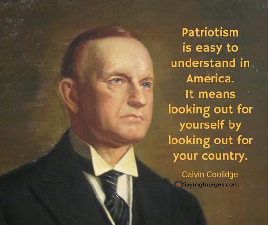 president calvin coolidge quote