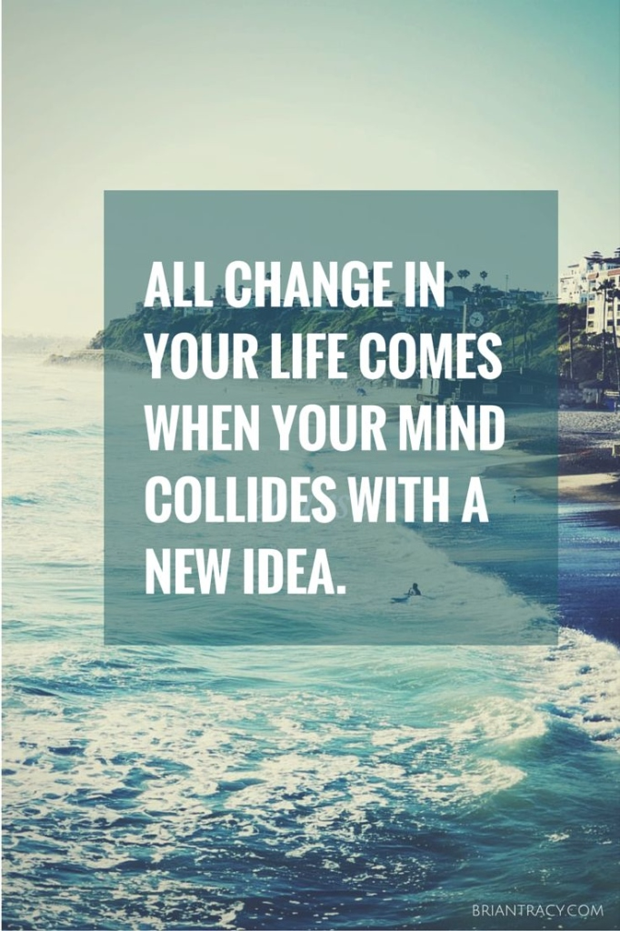 All Change In Your Life