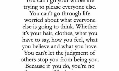 Cant Let People Scare You
