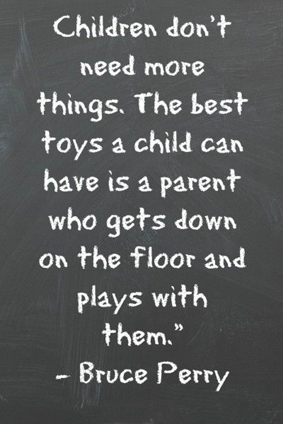 Children Dont Need More Things