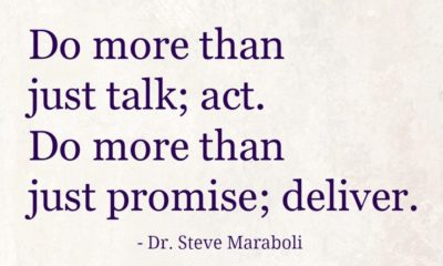 Do More Than Just Talk