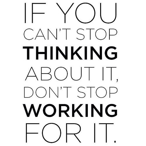 Dont Stop Working