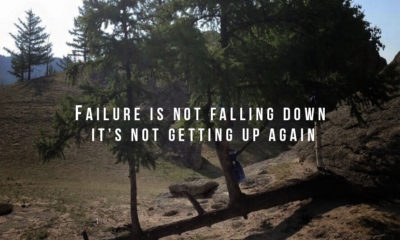 Failure Is Not Falling Down Daily Quotes Sayings Pictures