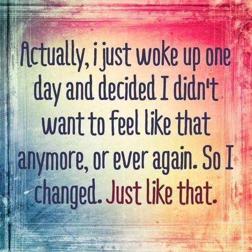 Feel Like That