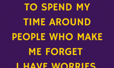 Forget My Worries