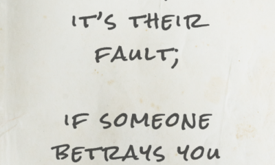 If Someone Betrays You